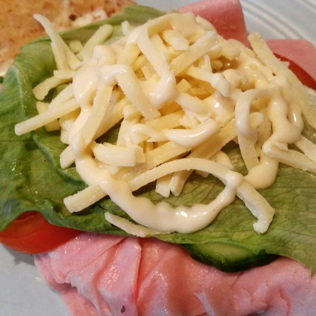 Weight Watchers Ham Salad Sandwich