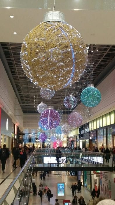 Arndale Christmas Lights