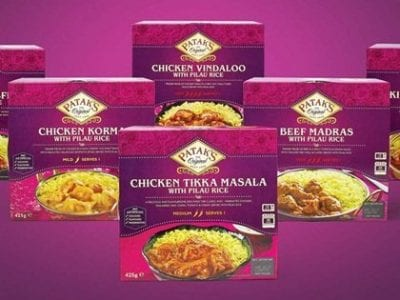 Reviewing The New Patak's Frozen Curry Range