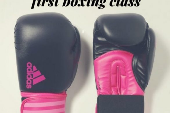 First boxing class