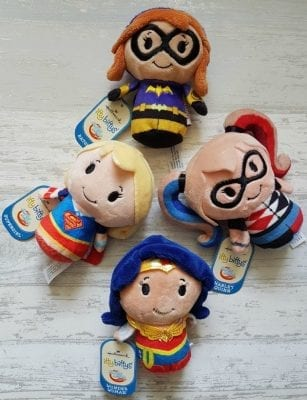 Introducing The Itty Bittys Superhero Girls Collection