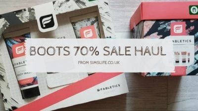 What Bargains Did I Pick Up In The Boots 70% Sale?