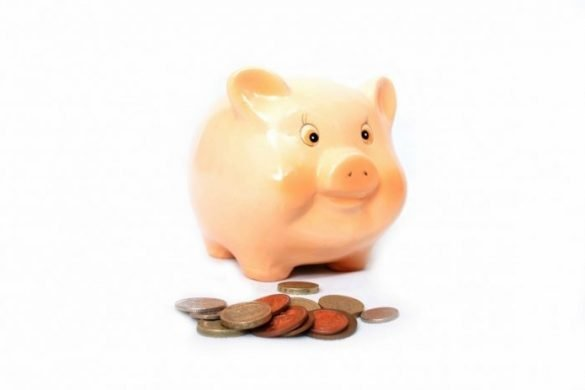 Piggy Bank Save Money as a Student