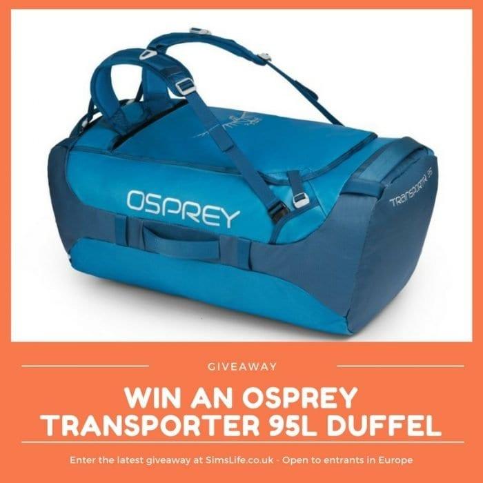Win an Osprey Transporter