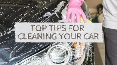 Tips + Tricks: Best Car Cleaning Hacks