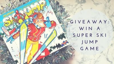 Giveaway: Super Ski Jump Game From Drumond Park