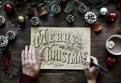 It's Time To Write Christmas Cards Again!