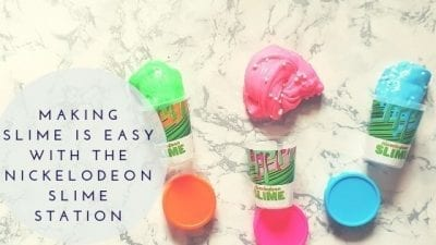 Making Slime Is Easy With The Nickelodeon Slime Station
