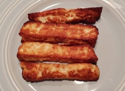 How To Make: Keto Halloumi Fries Recipe