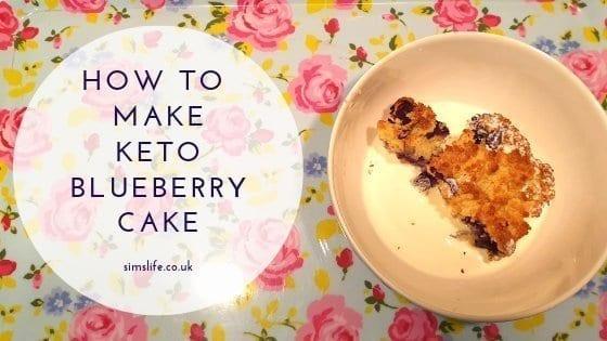 Recipe: How To Make Keto Blueberry Cake