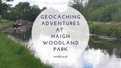 Our Half Term Geocaching Adventures At Haigh Woodland Park