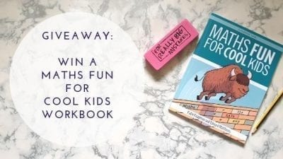 Giveaway: Maths Fun For Cool Kids Workbook