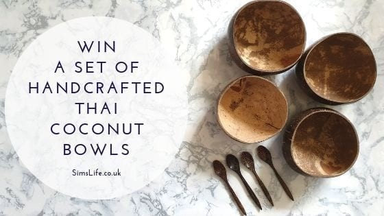 Win A Set Of Beautifully Handcrafted Thai Coconut Bowls And Spoons