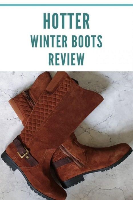 Hotter Winter Boots Review Pinterest
