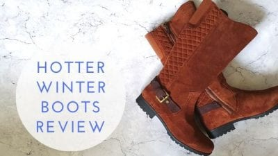 Hotter Boots Review – The Perfect Winter Footwear