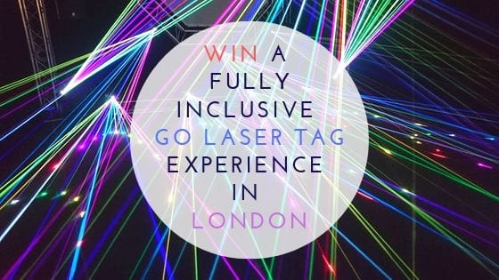 Win a Fully Inclusive GO Laser Tag Experience London Worth £100!