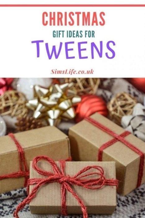 gift ideas for tweens pinterest image