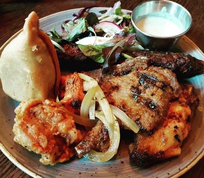 Scene Indian Restaurant in Manchester
