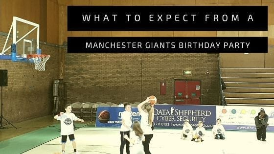 What To Expect From A Manchester Giants Birthday Party