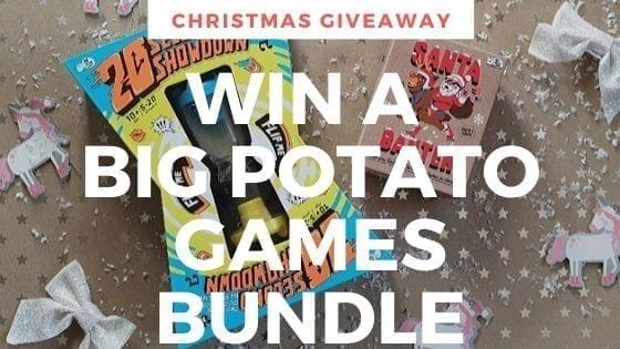 Christmas Giveaway: Win A Big Potato Games Bundle