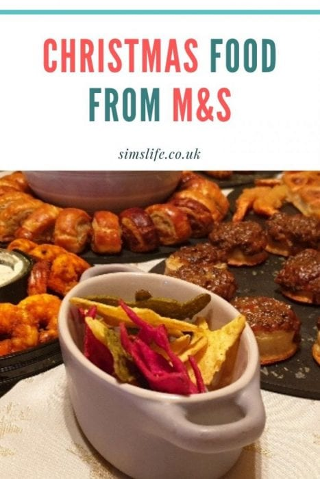 Christmas Food from Marks & Spencer