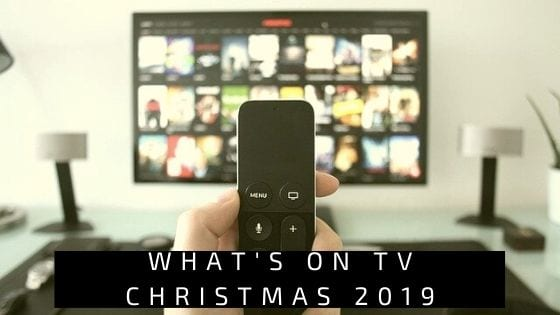 What's On TV Christmas 2019