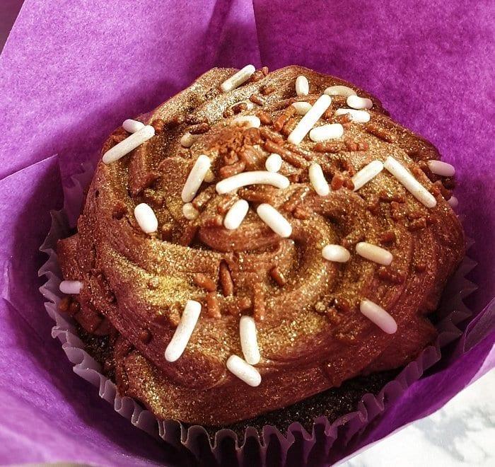 Afternoon Tea Chocolate Cupcake