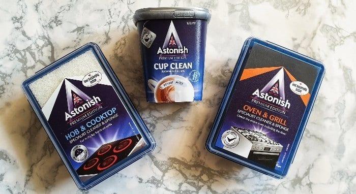 New Astonish Cleaning range