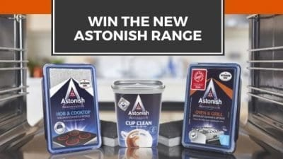 Win The New Astonish Cleaning Range