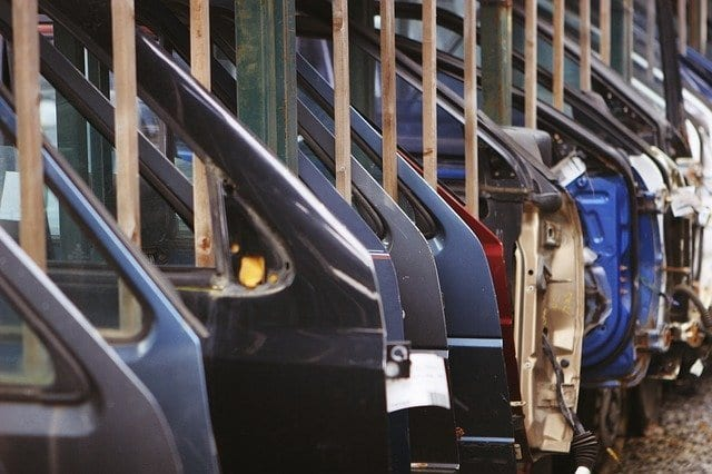 Buying and selling car doors online