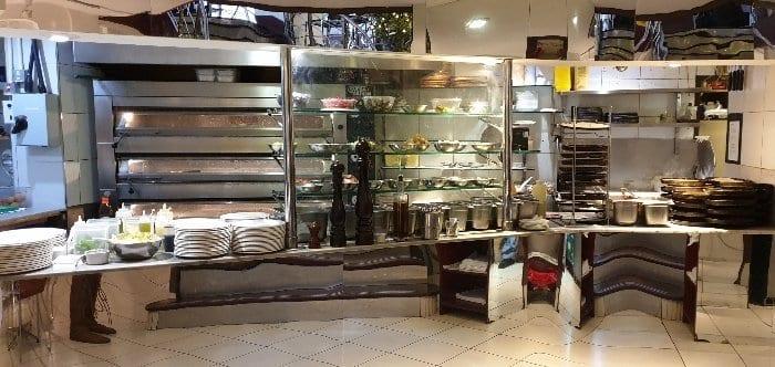 Croma restaurant kitchen
