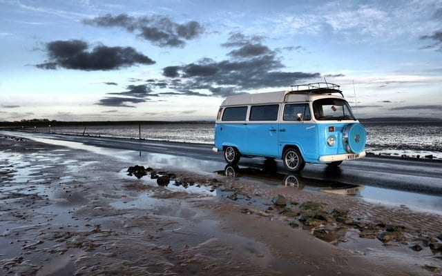 Staycation in a campervan