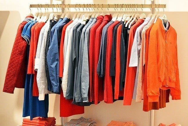 Selling unwanted clothes