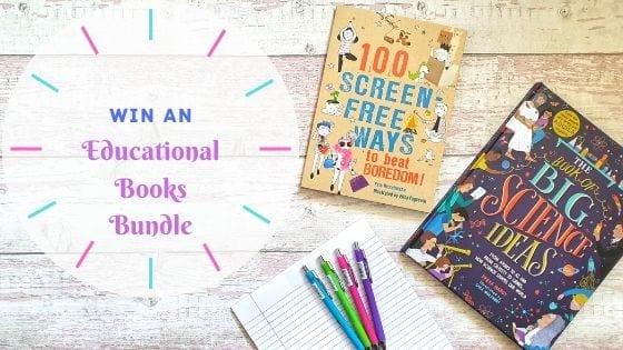 Win An Educational Books Bundle