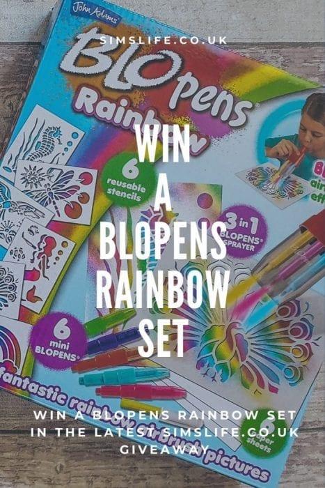 BLOpens rainbow giveaway