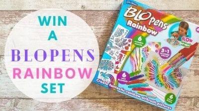 Win A BLOpens Rainbow Set