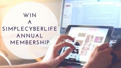 SimpleCyberLife Annual Membership Giveaway