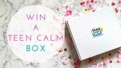 Teen Calm Review And Win A Teen Calm Box