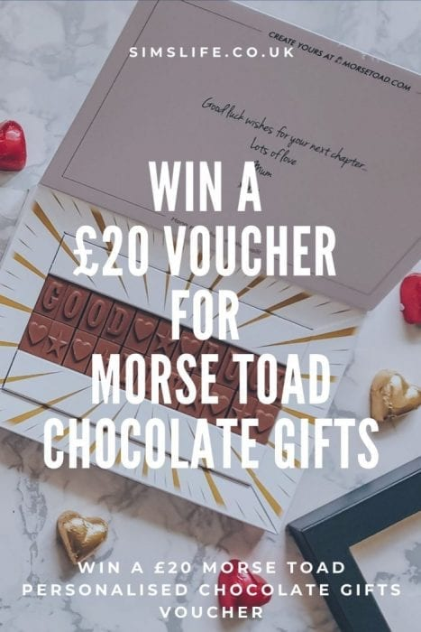 Morse Toad voucher giveaway
