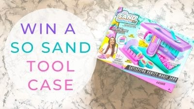 Win A So Sand DIY Satisfying Sand Tool Case