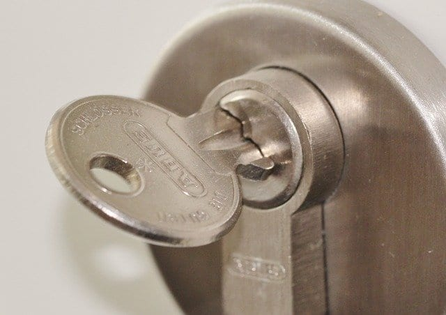 Change your locks when renovating your home