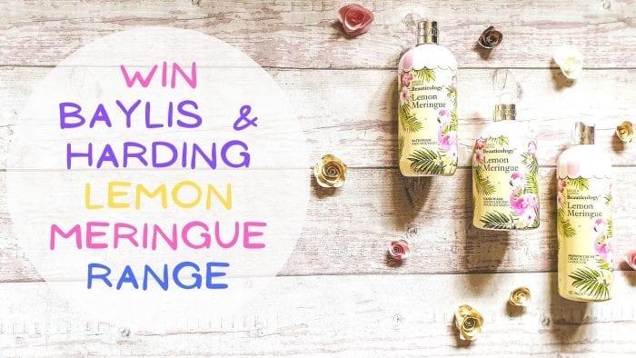 Win The Baylis & Harding Beauticology Lemon Meringue Range