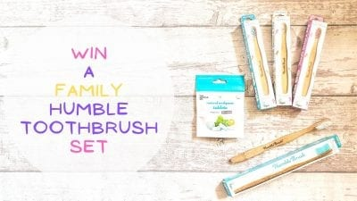 Win A Family Humble Toothbrush Set