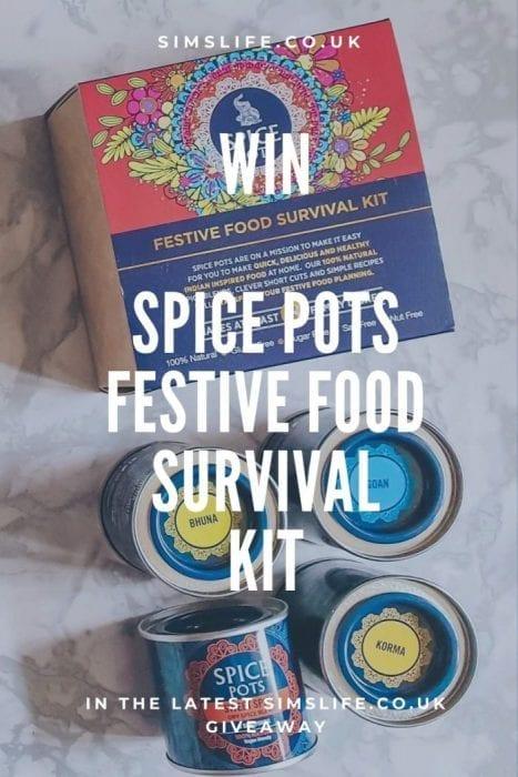 Spice Pots Christmas tins