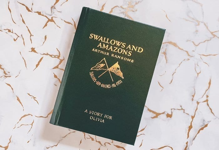 Swallows and Amazons personalised copy