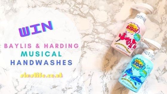 Win Baylis & Harding Musical Handwashes