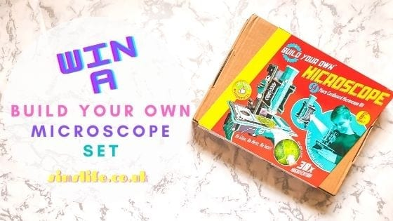 Win A Build Your Own Microscope Set
