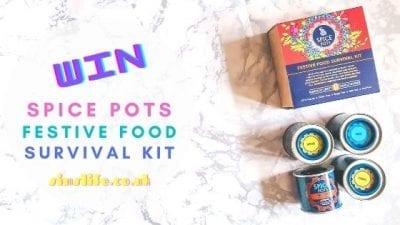 Win A Spice Pots Festive Food Survival Kit