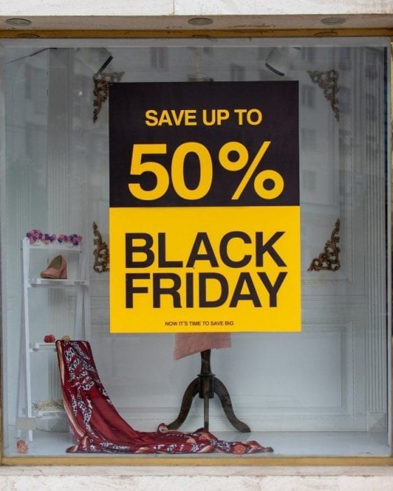 Black Friday sale 2020