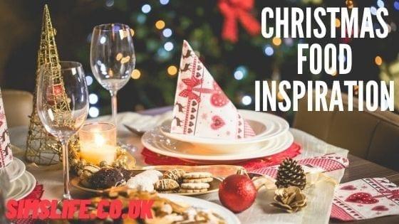 Christmas Food Inspiration – Sim's Life Christmas Guide